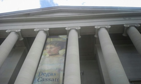 The West Building featuring a special exhibit of Degas/Cassatt