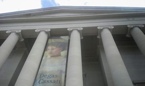 The West Building featuring a special exhibit of Degas/Cassatt