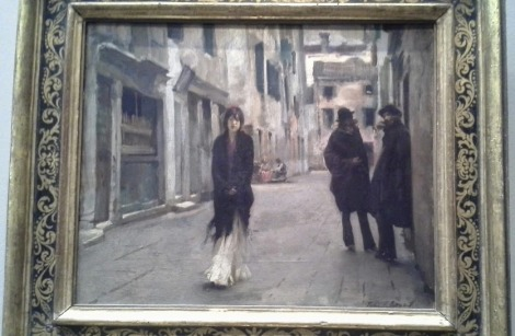 "Sargent's ""Street in Venice"""