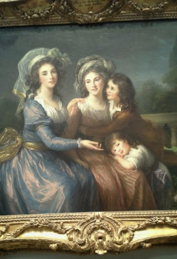 "Vigee-Lebrun's ""The Marquise de Pezay and the Marquise de Rouge with her Sons"""
