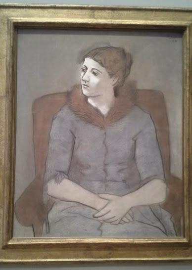 """Picasso's """"Madame Picasso"""""""