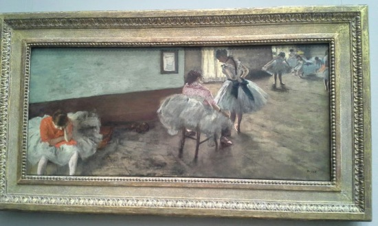 "Degas' ""The Dance Lesson"""