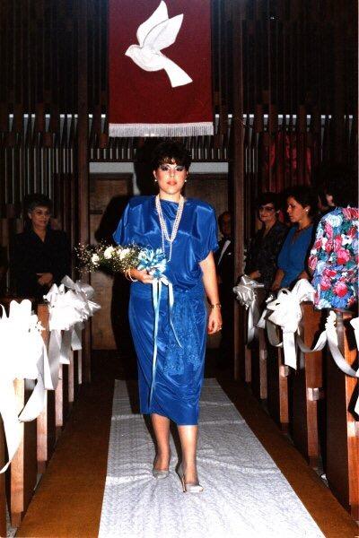 Maid of Honor at my wedding.