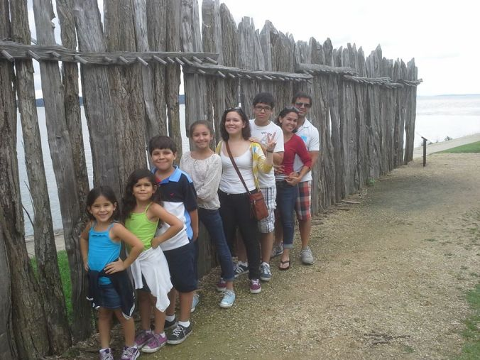 The clan at Jamestown
