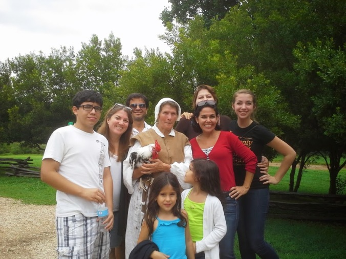 2 summers ago at Jamestown with my brother and his beautiful family <3