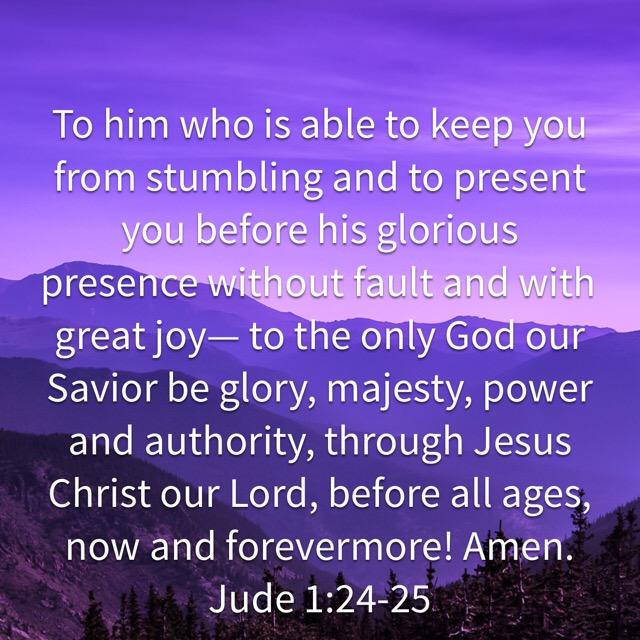 jude 1:24-25