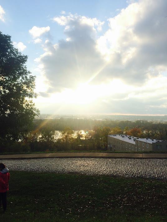 sunset in richmond